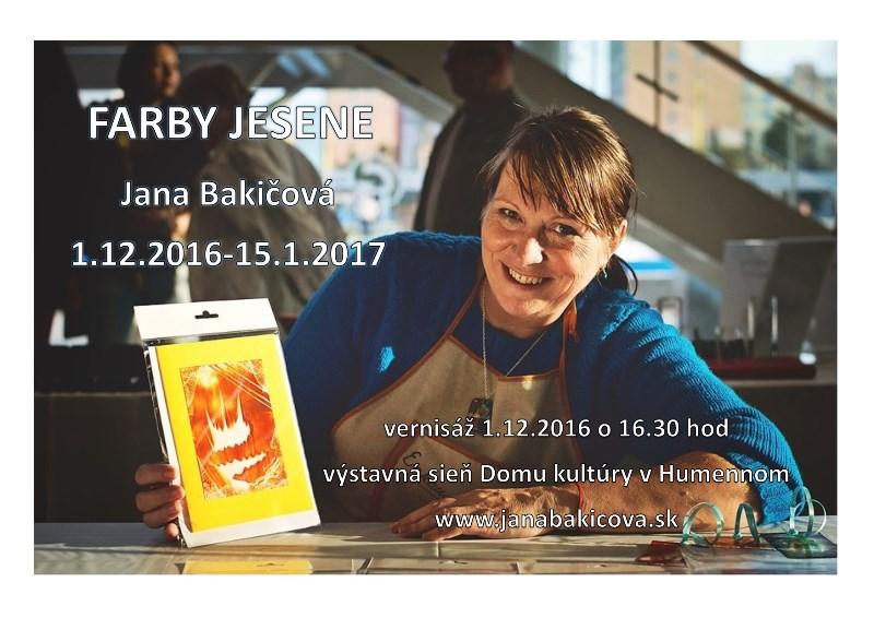 Výstava: Farby jesene (J.Bakičová)