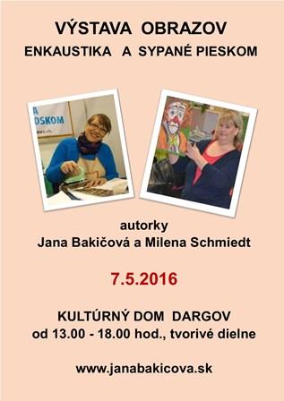 Výstava: Enkaustika (Jana Bakičová)